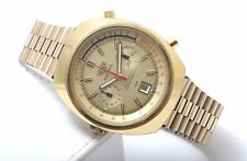 Heuer Leonidas Montreal Manual Wind Vintage 1970 s Gold Plated Men's Watch