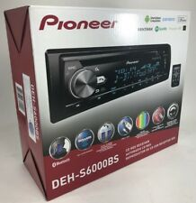 Pioneer - DEH-S6000BS - SiriusXM Ready Bluetooth In-Dash CD/AM/FM Car Stereo