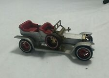 1906 ROLLS-ROYCE SILVER GHOST SILBER ROT MATCHBOX MODELS OF YESTERYEAR Y-10 1969