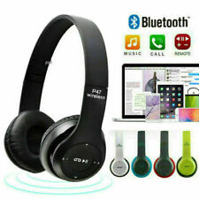 Noise Cancelling Bluetooth 5.0 Over Ear Headphones Wireless Headset Microphone