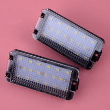 A Pair 18LEDs Number License Plate Light Fit for Seat Leon Mk1 (1M) 2001-2004
