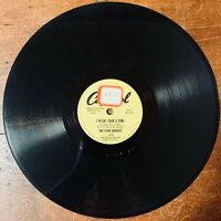 THE FOUR KNIGHTS  THE WAY I FEEL / I WISH I HAD A GIRL CAPITOL 78 RPM PROMO COPY