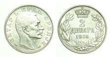 pcc1716_1) YUGOSLAVIA - SERBIA - PETER I° - 2 DINARA SILVER 1915