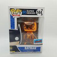 Batman 144 Orange Chrome NYCC Funko Pop Limited Edition Exclusive