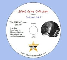 """DVD """"The ABC of Love"""" (1919) starring Mae Murray, Classic Silent Drama"""
