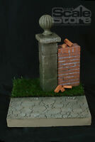 Scale Store S0012 Scene WWII / Modern Lawn Garden 1/6 Figure Diorama
