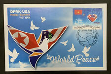Vietnam Stamp 2019 USA-DPRK Peace Summit VN #1104 Mint FDC Maxicard