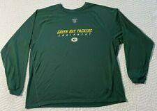 New listing Green Bay Packers Reebok NFL Equipment Shirt size XL