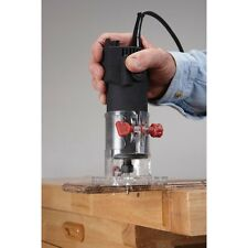 NEW 1/4 in. 2.4 Amp Trim Router Woodworking Wood Clean Cuts Free US Shipping