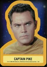 Star Trek TOS 40th Anniversary Series 2 Star Trek Stickers Chase Card S10