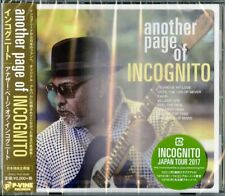 INCOGNITO-ANOTHER PAGE OF INCOGNITO-JAPAN CD E25