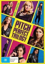 Pitch Perfect / Pitch Perfect 2 / Pitch Perfect 3 (DVD, 2018, 3-Disc Set)