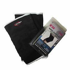 2 Piece Set- Knee Elastic Brace Muscle Support Sleeve Sports Pain Relief Gym NEW