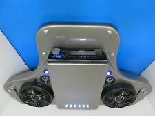 YAMAHA DRIVE G29 GOLF CART STEREO RADIO SYSTEM ROOF MOUNT CONSOLE WITH SPEAKERS