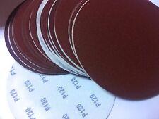 "9"" inch Sanding Disc, 120 grit, 10 Pack, Hook&loop , High Quality AL Oxide"