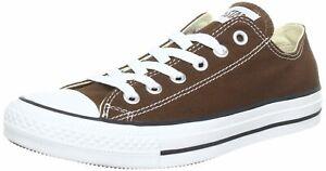 Converse Unisex Chuck Taylor All Star OX Sneaker Chocolate 1Q112(AQ112)