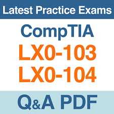 CompTIA Linux+ [Powered by LPI] Practice Tests LX0-103 & LX0-104 Exams Q&A PDF