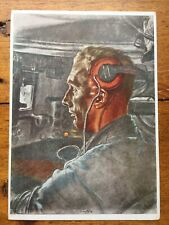 German WW2 Original Willrich Propaganda Postcard
