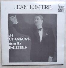 DOUBLE VINYLE 33 TOURS JEAN LUMIERE 24 CHANSONS DP46 FR 2X LPs