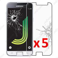 Lot 5 Film protection VERRE Trempé Vitre Samsung Galaxy J3 2016 SM-J320F
