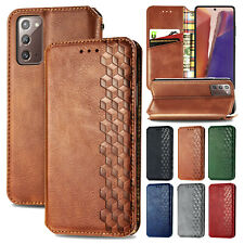 For Samsung Galaxy S21 Ultra/Note20 5G Leather Flip Card Wallet Stand Case Cover