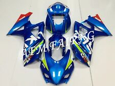 Blue Track/Race ABS Injection Mold Bodywork Fairing Kit for GSXR1000 2007 2008