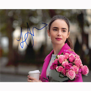 Lily Collins - Emily in Paris (83965) - Autographed In Person 8x10 w/ COA