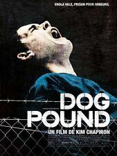 Affiche 40x60cm DOG POUND (2010) Kim Chapiron - Adam Butcher, Shane Kippel NEUVE
