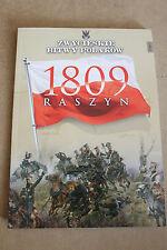 Winning the battles in the history of Poland Tom 7 Raszyn - 1809 - Polish Book
