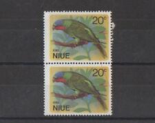 Niue 1971 Birds 20¢ Parrot Pair Stamps