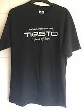 "Medio 40"" RARA Tiesto North American Tour 2006 IN SEARCH OF Sunrise T-shirt"