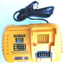 New Dewalt Genuine Dcb118 Flexvolt 20V-60V Max Rapid Battery Charger 20 60 Volt