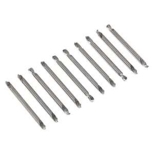 """Sealey Double End Drill Bit Set 10 Piece 1/8"""" Drill Bits Bit Set AK9910"""