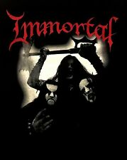 IMMORTAL - All Shall Fall T-shirt - Size Medium M - Black Metal - Abbath