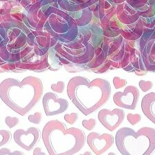 Prismatic Shimmer HEARTS CONFETTI  (14g) %7bAmscan%7d (Valentines/Celebration/Party)