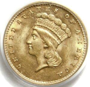 😍🔥🔥🌝PCGS MS63 1861 GOLD ⭐️DOLLAR TYPE 3
