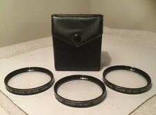 ROKUNAR 55mm CLOSE-UP Lens Set with Case #1, #2 & #4 with Case