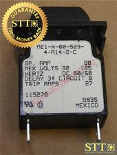 Me1-X-00-523-4-A14-2-C Carling M-Series Circuit Breaker 20 Amp 125/32 Vac/Vdc