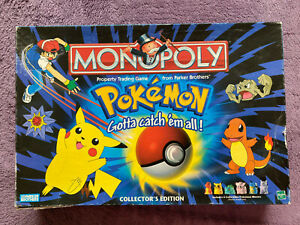 "1999 MONOPOLY ""POKEMON"" Collector's Edition"