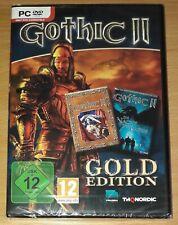 Gothic II - Gold Edition PC DVD-rom (enthält Gothic II + Die Nacht Des Raben)