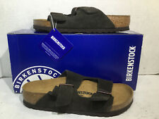 Birkenstock Womens Size 5 EU 36 Arizona Mocca Suede Casual Sandals ZB5-1730