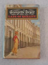 Georgette Heyer LADY OF QUALITY E. P. Dutton 1972 1st Edition