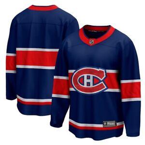 Men's Montreal Canadiens Blue 2020/21 - Special Edition Breakaway Hockey Jersey
