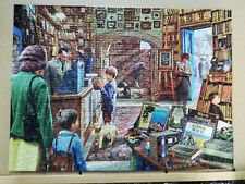 The Book Store -  Puzzle World Jigsaw puzzle 500 pieces complete lovely jigsaw