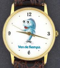 Vintage Van De Kamp's Fish Advertising Character Watch