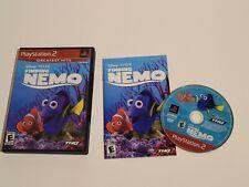 New listing Finding Nemo Ps2 Disney Pixar Cib W/Manual Playstation, Kids Game Tested