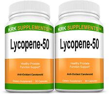 2 Lycopene 50mg Prostate Support Antioxidant Carotenoids