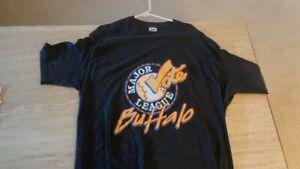 "1980's Pre-Owned ""Vote Major League - Buffalo"" XXL T-Shirt - Buffalo Bisons"