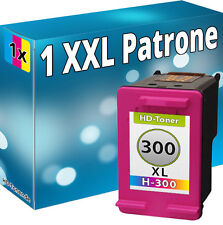 1x REFILL TINTE PATRONEN für HP 300 XL F2492 F2493 F4200 F4210 F4213 F4224 F4272