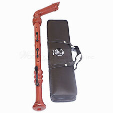 Wood Simulated Bass Recorder & bag-Free U.S Shipping